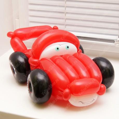 Как своими руками сделать машину из шаров 446