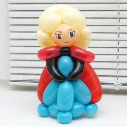 Маленькая фигурка Эльзы из шаров 30 см.