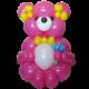 Медвежонок из воздушных шаров 90 см.