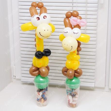 """Упаковка для конфет """"Жирафики"""", пара"""