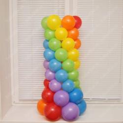 Тумба из шаров для фонтана 1 м.