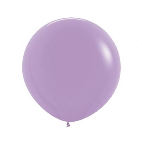 Шар с гелием (32''/80 см) лиловый, яркий непрозрачный