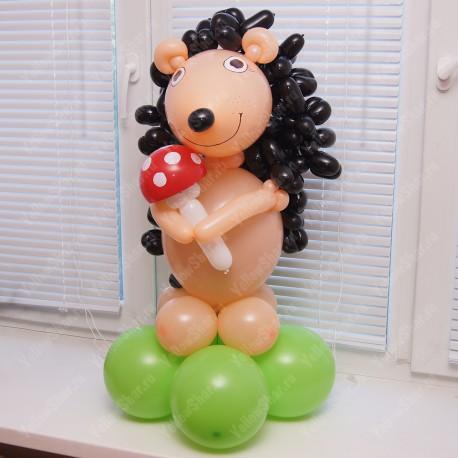 Фигура Ёжика из шаров 75 см.