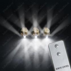 Светодиод для шара с гелием (12''/30 см), белое свечение для управления пультом