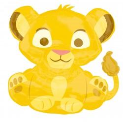 """Шар фольгированный """"Король лев малыш"""" (25''/64 см)"""