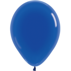 Шар с гелием (12''/30 см) голубой, кристалл