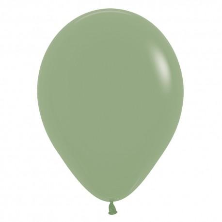 Шар с гелием (12''/30 см) Эвкалипт, яркий непрозрачный