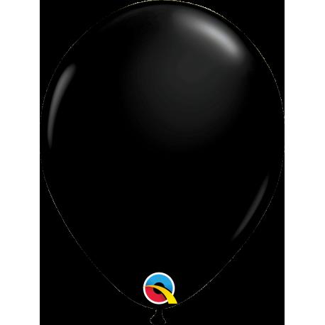 Шар с гелием (11''/28 см) Оникс черный, яркий непрозрачный