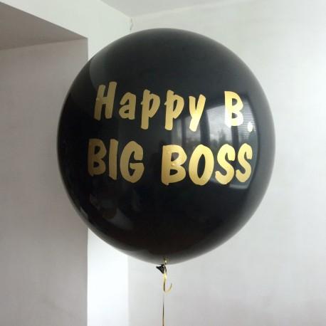 Большой гелиевый шар 80 см. с индивидуальной надписью