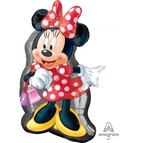 """Шар фольгированный """"Minnie Mouse dance"""" (31''/78 см)"""