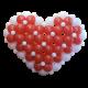 Объемное сердце 1,6 м.