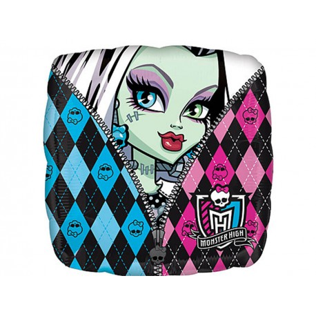 "Шар фольгированный ""Monster High"" (17''/43 см) квадратный"