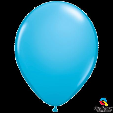 Шар с гелием (11''/28 см) Robin's egg Blue, яркий непрозрачный