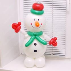 Снеговик из шаров 70 см