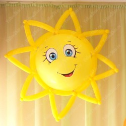 Солнце из шаров 60 си.