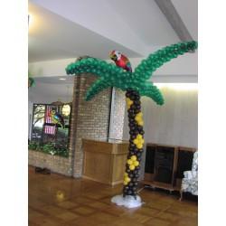 Пальма и широкими ветками из шаров 2,5 м.